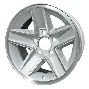 Aluminum Wheel 15x7 Silver 5 Slot 5x4 75 Bolt Pattern
