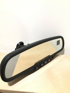 02 09 Gm Silverado Tahoe Suburban Compass Temp Rear View Mirror Gntx 261 015322