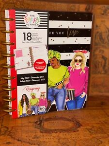 New The Happy Planner Rongrong plan A Life You Love Classic Planner 18 Month