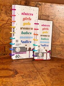 New 2021 Skinny Classic Happy Planner Rongrong sisters 12 Month bundle