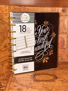 New The Happy Planner be Your Own Beautiful Classic 18 Month