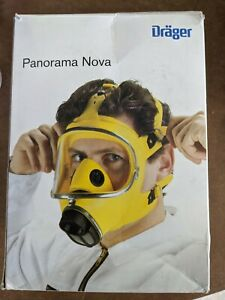 Drager Panorama Nova Mask Silicone p pc New Open Box And Manual