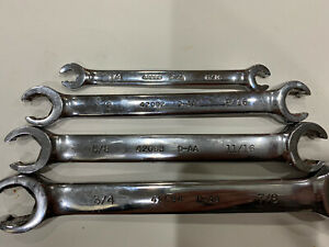 Craftsman 4 Piece Flare Nut Fractional Wrench Set
