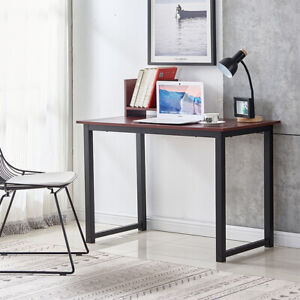 Computer Desk Study Pc Laptop Table Home Office Workstation Wooden New 41 23 29