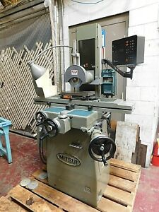 Surface Grinder 6 x12 mitsui High Tec 200mh W roller Table 2axis Dro
