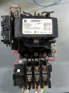 General Electric Ge Cr306do Size 2 Motor Starter With 120 Volt Coil