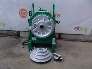 Greenlee 555 1 2 2 Inch Pipe Bender Rigid Emt Or Imc Comes With Rigid Shoes 6 1