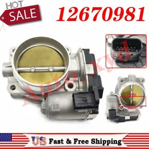 Throttle Body 12670981 Fit For Chevrolet Camaro Equinox Impala Traverse 3 6l