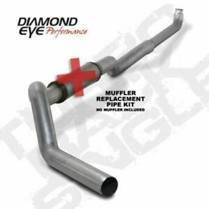 Diamond Eye 5 Straight Pipe Exhaust K5118a Rp For 2001 2010 Chevy Gmc Duramax
