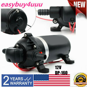 Pump Dc 12v Self Priming Water Pressure Pump For Caravan rv boat marine Adapter