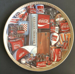 1995 The Eras of Coca Cola 1970-1980 Numbered Edition Collectors Plate #3279