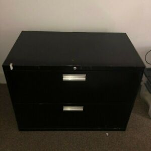 Filing Cabinet 2 drawer Lateral Hon 36 X 19 X 28