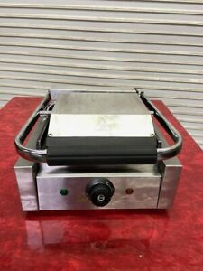 Flat Panini Tortilla Sandwich Contact Grill Electric Chef Supreme 4134 Smooth