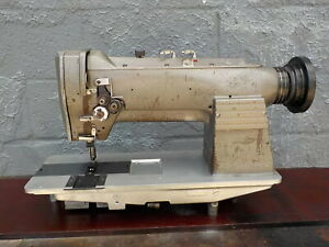 Industrial Sewing Machine Consew 332 Two Needle leather