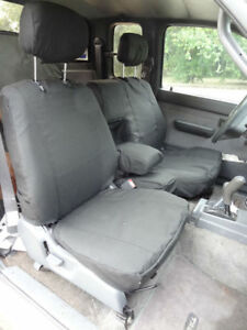 1995 2000 Toyota Tacoma Front 60 40 Split Exact Fit Seat Covers Gray Endura Save
