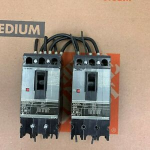 Lot Of 2 Siemens Hhed63b015 Circuit Breaker 15 Amp 3 Pole 600 Vac