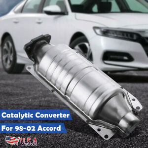 Catalytic Converter Car Exhaust System For 1998 02 Honda Accord 2 3l 2254cc L4
