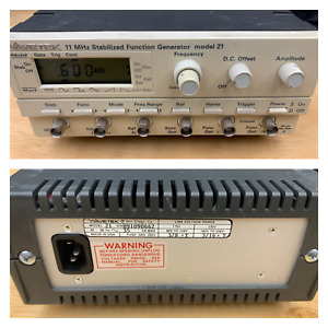 Wavetek Model 21 11 Mhz Stabilized Function Generator 115 230v