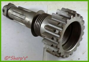 B3614r John Deere 520 530 Transmission Drive Gear With Shaft And Nut