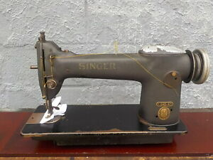 Industrial Sewing Machine Singer 245 4 Single Needle With Edge Cutter