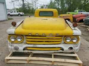 1958 Dodge Truck Front Clip Shipping Included See Description