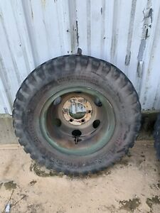 Military Ndt 900x20 Tire With Wheel M35a2 M109 set Of 4