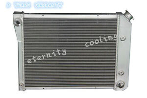 571 3 Row Aluminum Radiator For 68 74 Chevy Nova 70 81 Camaro 1975 87 El Camino