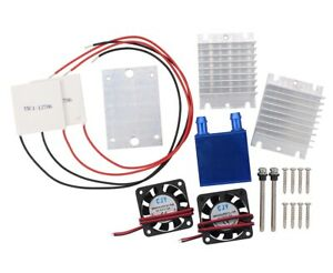 Tec1 12706 Thermoelectric Peltier Module Water Cooler Cooling System Diy Sets