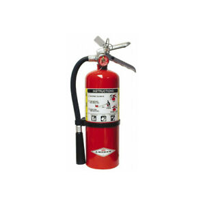 Amerex B500 5 Lb Dry Chemical Fire Extinguisher W Wall vehicle Mount