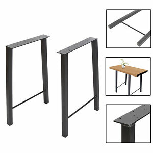 28 Diy Industry Trapezoid Dinner Coffee Table Leg Metal Steel Desk Legs