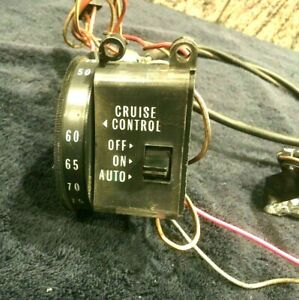 Cadillac Cruise Control Switch In Dash 1969 1970 Repaired Tested Working