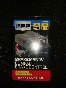 Compact Brake Controller Reese Towpower Electric Control Trailer Timed Brakeman