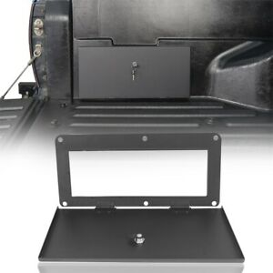 Textured Back Bed Security Lockbox Frame For Toyota Tacoma 2005 2020 Pickup