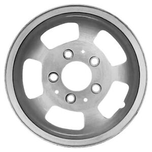 15 Brushed 5 Slot Alloy Wheel 1990 1991 Ford Fullsize 3015