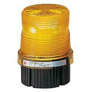 Federal Signal Fb2pst 012 024a Strobe Beacon 12 24vdc Pipe surface Mount Amber