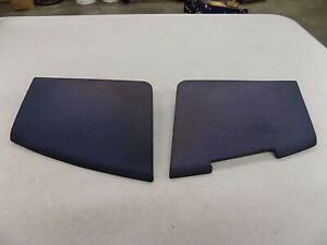 Nice Oem Used 88 89 Chevrolet Truck Pair Dash Speaker Grill Cover Blue Color