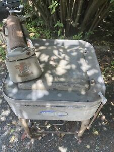 Vintage 1926 Maytag Wringer Washer With Motor Very Rare And Some Emblems Stillon