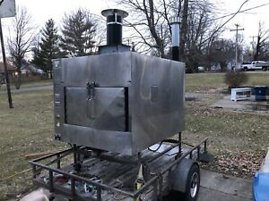 Ole Hickory Rotissere Smoker Bbq Pit