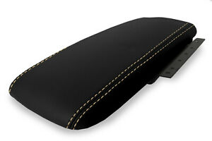 Console Armrest Cover Leather For Ford Crown Victoria Mercury 03 11 Beige Stitch