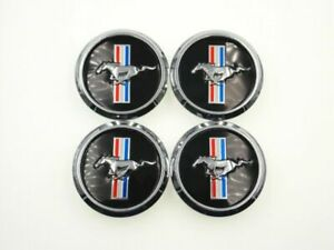 For Ford Mustang Cobra Gt Horse Wheel Rim Center Hub Caps Clips 2 68 68mm 4pcs