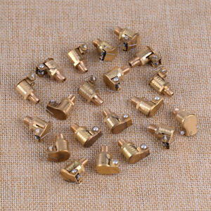 Lot 20 M6 X 1mm 6mm O d Brass Grease Oil Cup Oiler Spring Cap Hit Miss Engine