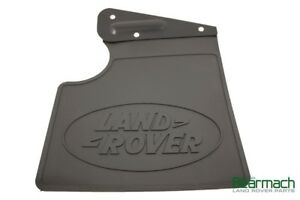 Land Rover Mudflap Rear Lh C W Brkt Part Cat500170pma