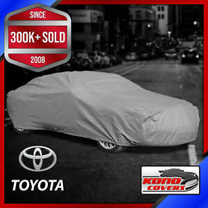 Toyota outdoor Car Cover All Weather Waterproof Full Body Custom Fit
