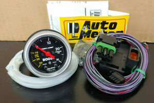 Autometer Sport Comp Boost Gauge 3377