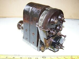 Old Simms Su4 Dual Tractor Magneto Car Truck Motorcycle Hit Miss Engine Hot