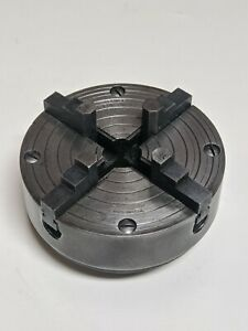 Atlas Craftsman 618 Power Companion Mfg 111 1724 4 Jaw 4 Lathe Chuck