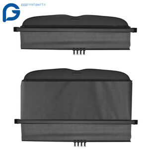 Cargo Cover Security Trunk Shield For Subaru Forester Manual Door Tonneau 09 13