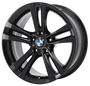 18 Bmw 320i Wheel Rim Factory Oem 86188 2012 2018 Gloss Black