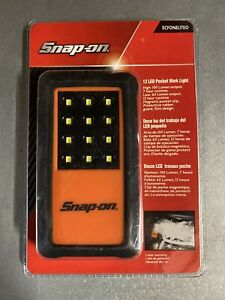 New Snap On Tools 12 Led Pocket Work Light Battery Operated Ecfonelite