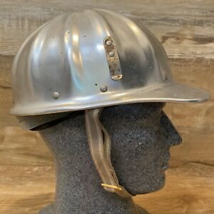 Aluminum Hard Hat Superlite Fibre Metal Cap Mine Safety Short Brim Us Government